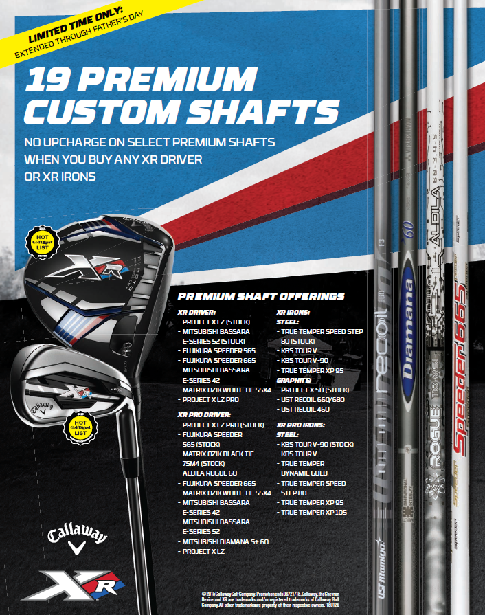 callaway-xr-premium-custom-shaft-offer