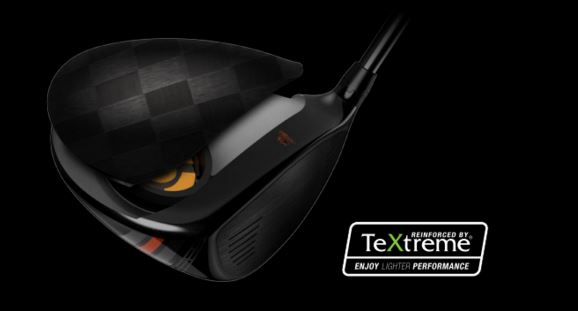 Cobra King LTD Driver Textreme Carbon Fiber Crown