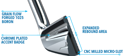 Mizuno MP-25 Iron Technology