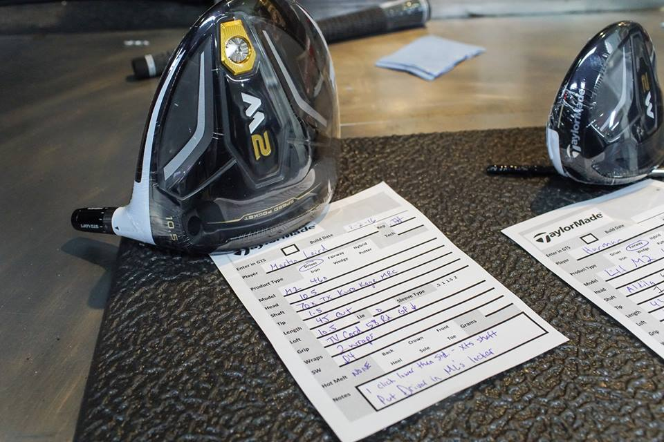 Waste Management Phoenix Open TaylorMade M2 Club Requests