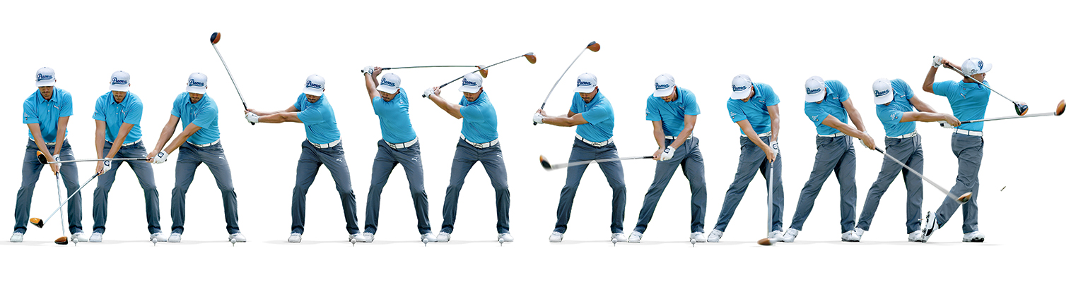 Rickie Fowler Golf Swing Sequence