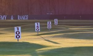range-yardage-sign