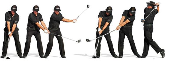 Phil Mickelson Driver Contact