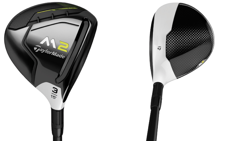 TaylorMade 2017 M2 Fairway Wood Sole & Crown