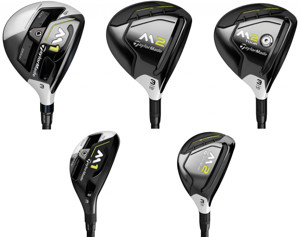 2017 TaylorMade M Family