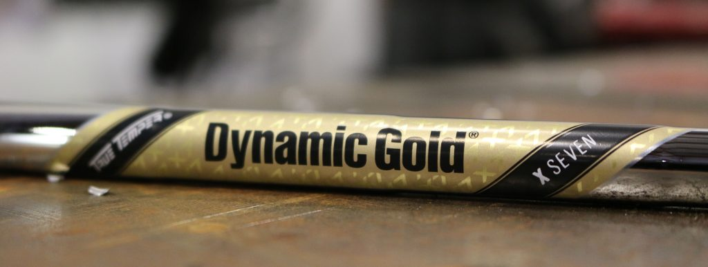 Dynamic Gold X7 shafts