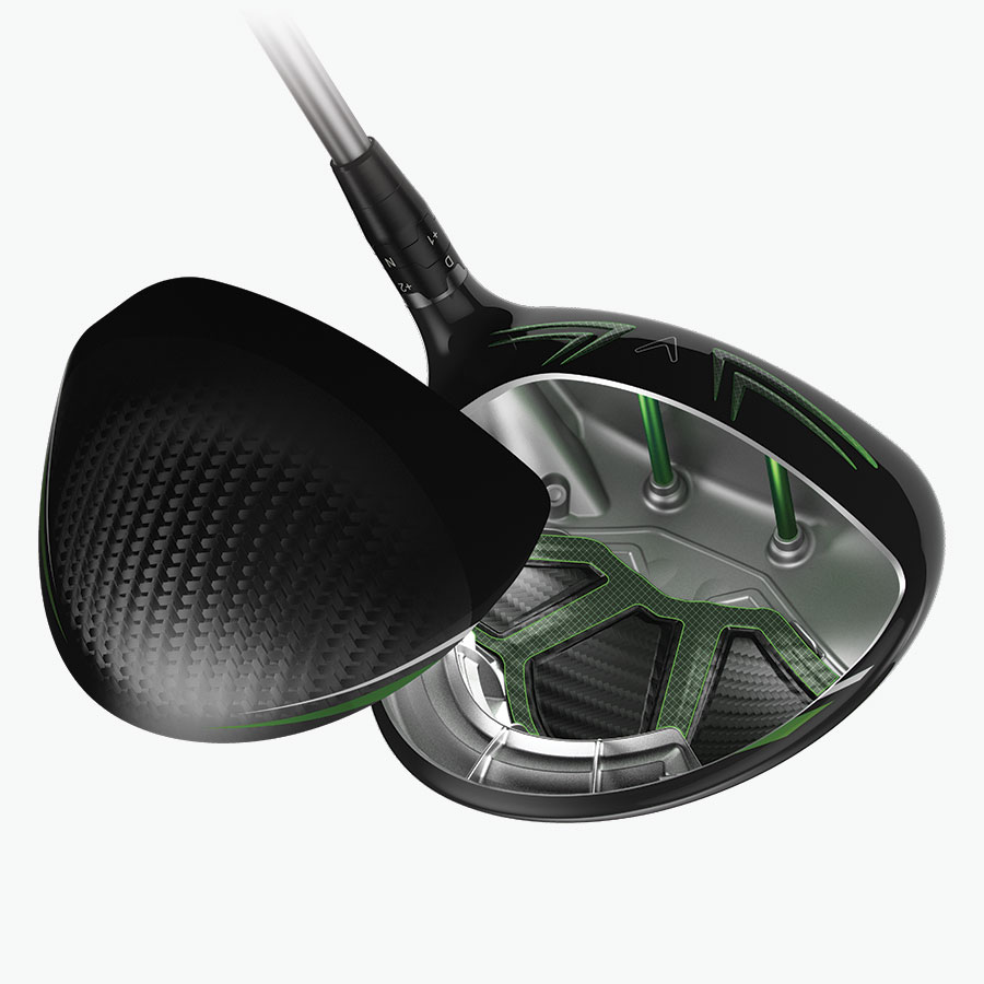 gbb epic sub zero driver exo-cage triaxial carbon crown