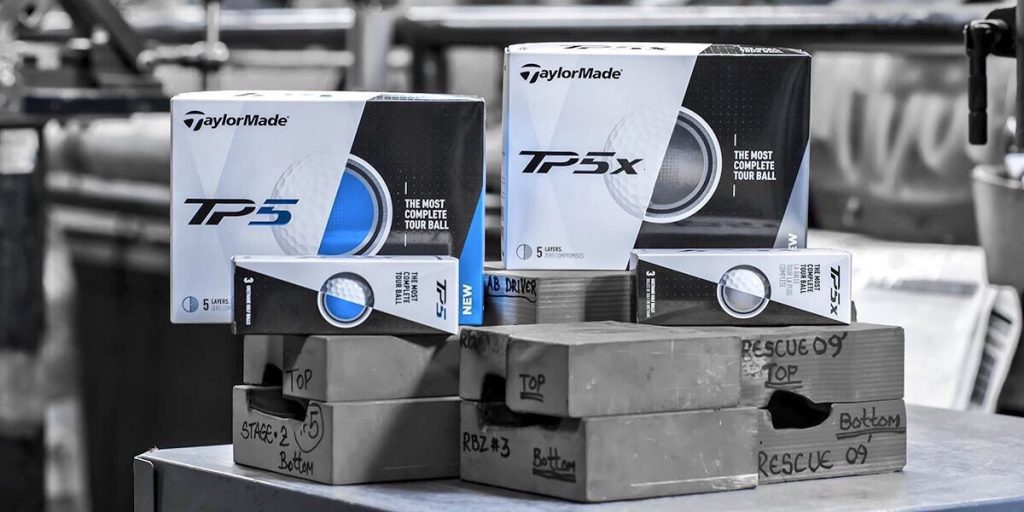 TaylorMade TP5 and TP5x Golf Ball