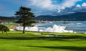 pebble beach 18th hole