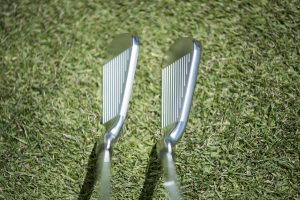 Epic and Epic Pro irons at address