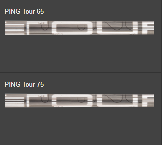 G400 driver tour shafts
