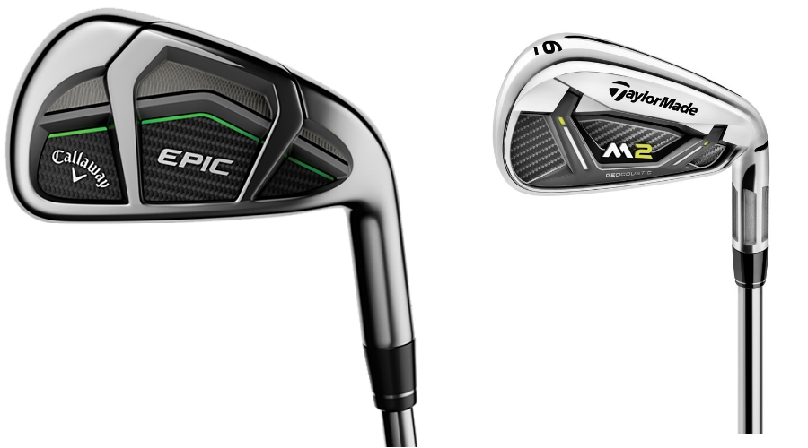 callaway epic vs taylormade m2 2017 irons globalgolf blog. Black Bedroom Furniture Sets. Home Design Ideas