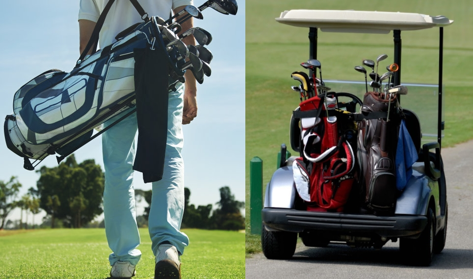choosing a golf bag