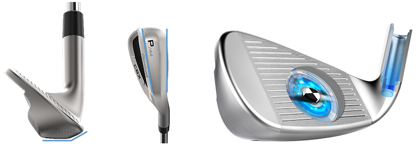CBX irons dual v sole feel balancing