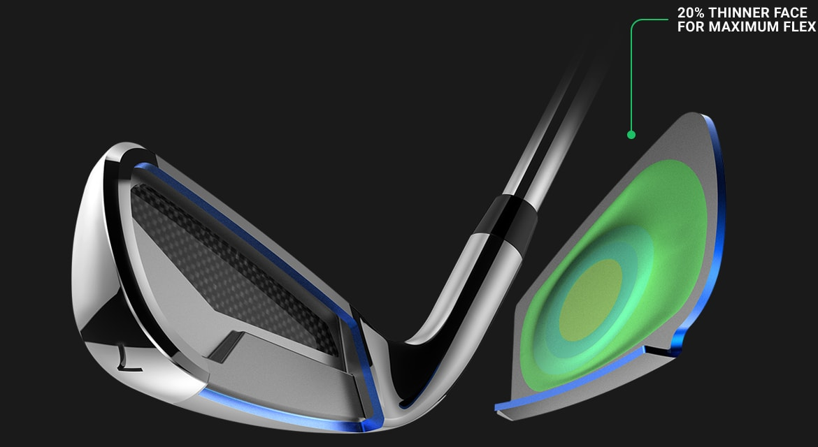 king f8 irons pwrshell_face_tech