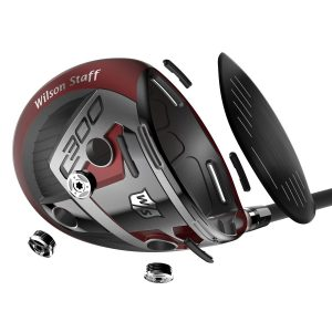 wilson staff C300 Driver Exploded