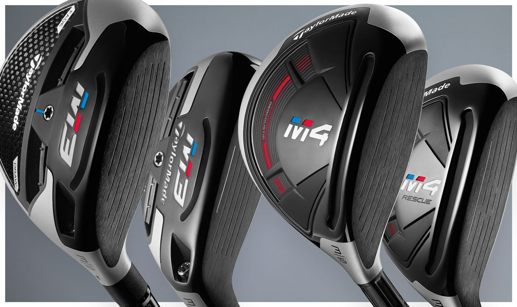 M3 and M4 fairway woods and rescues