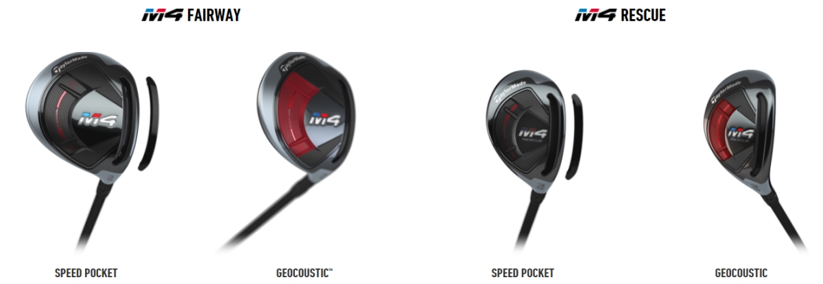 m4 fairway wood and rescue technology