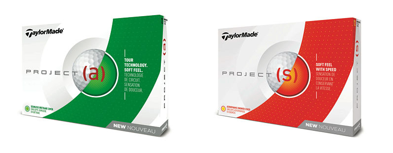 project a and project s golf balls