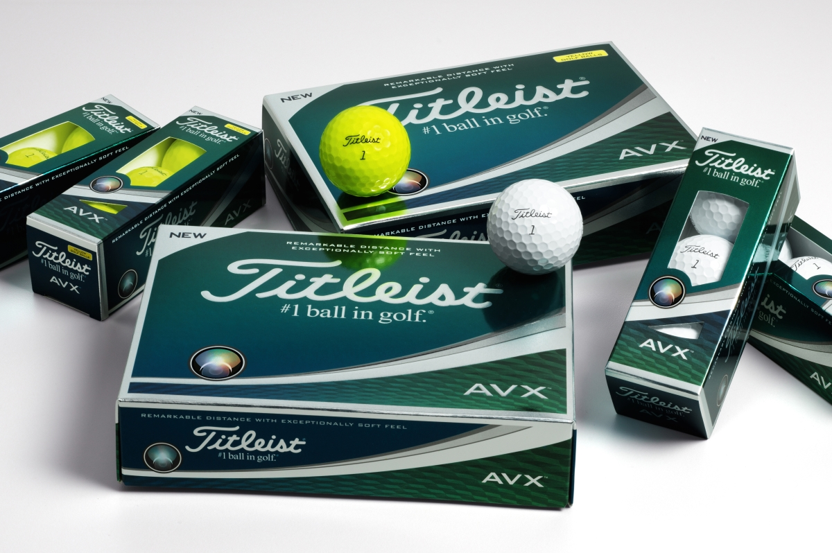 titleist avx and tour soft golf balls