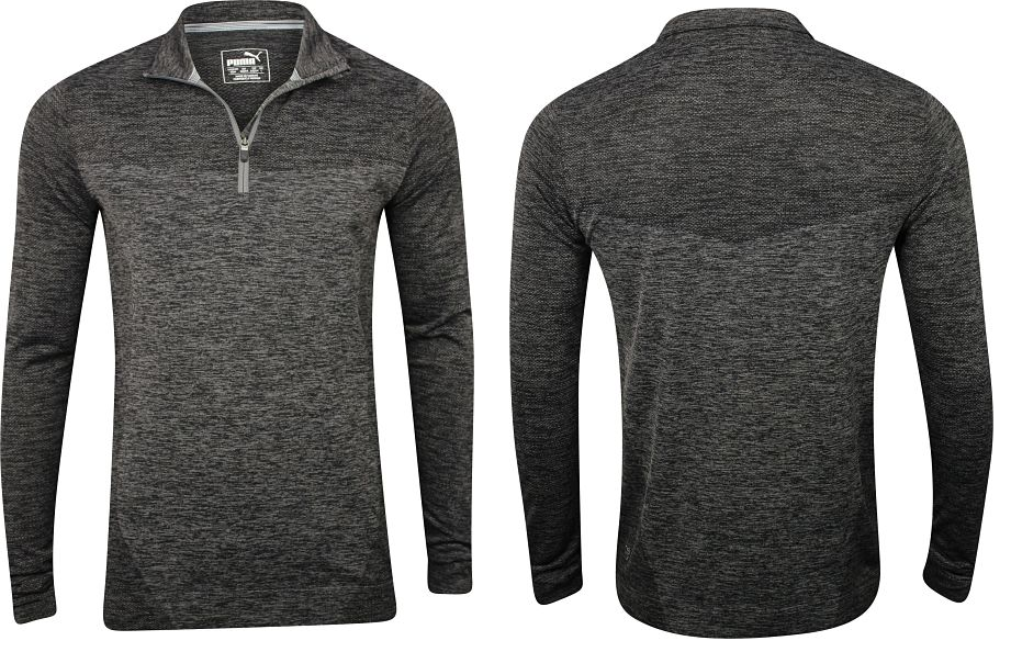 evoknit seamless quarter zip
