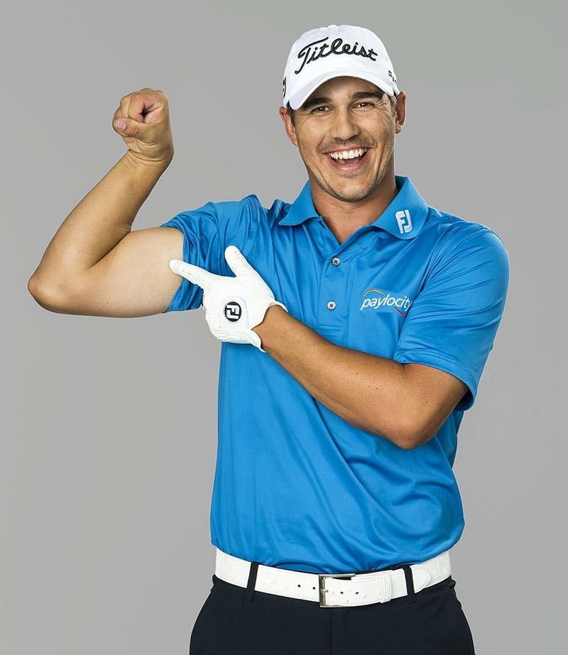 Brooks koepka flexing