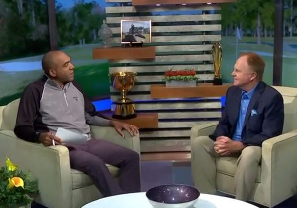 GlobalGolf Visits With Golf Channel