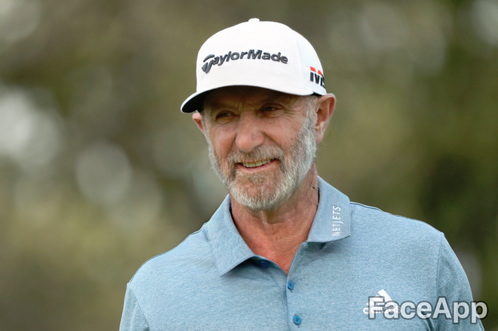 Dustin Johnson FaceApp