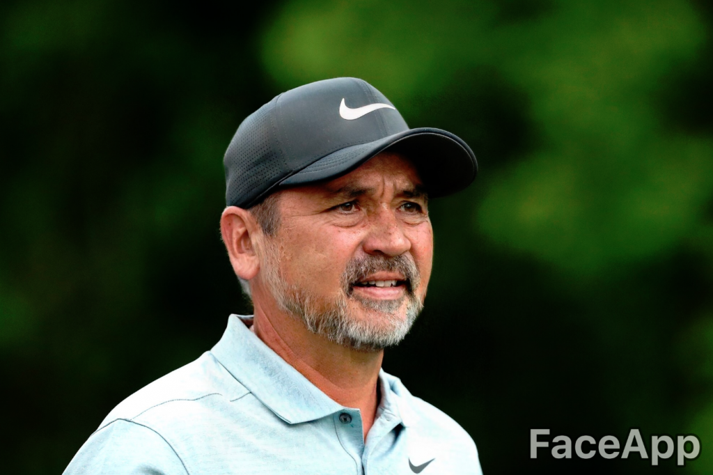 Jason Day FaceApp