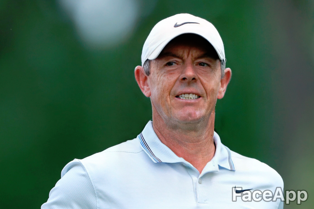 Rory McIlroy FaceApp